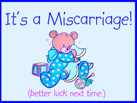 Miscarriage-Announcement